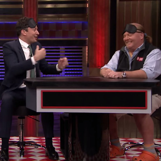 Anthony Bourdain and Mario Batali on Jimmy Fallon