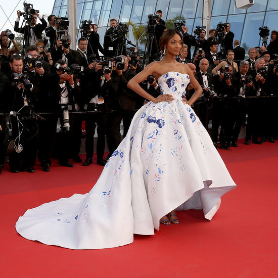 Jourdan Dunn's Dress at the Cannes The Unknown Girl Premiere
