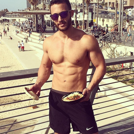 Hot Men Eating Hummus Instagram