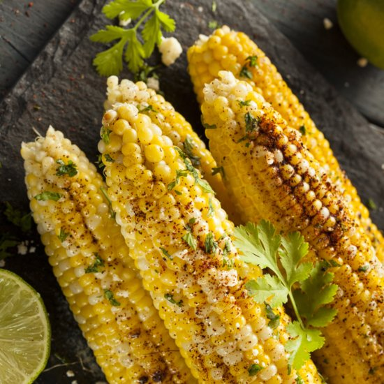 This Grilled Corn With Chipotle-Lime Mayo Is the Perfect Summer Side