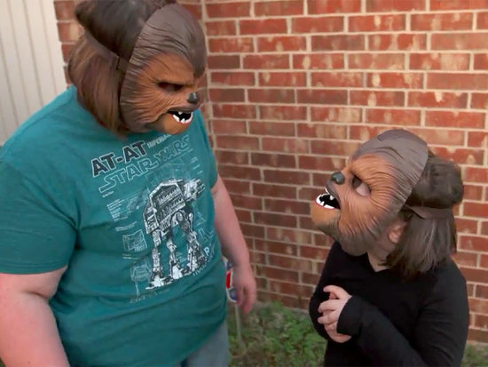 Chewbacca Mom's Whole Family Can Now Join in the Wookiee Fun - Check Out the Adorable Sequel