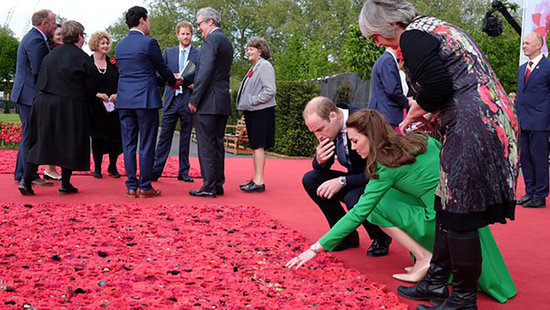 Kate Middleton and Prince William Tour the Chelsea Flower Show for First Time, Visit Princess Charlotte's Flower