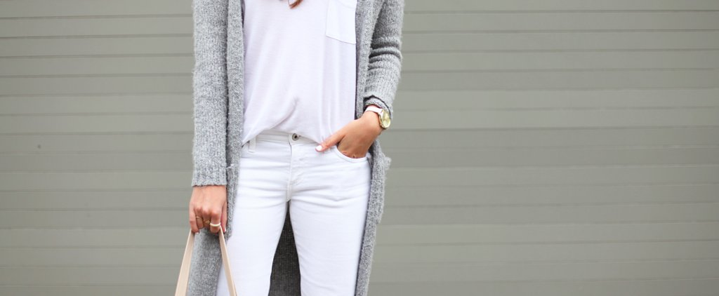 How to Wear White Jeans During a British Summer