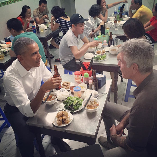President Obama Dines with Anthony Bourdain in Vietnam - Guess Who Picked Up the Check