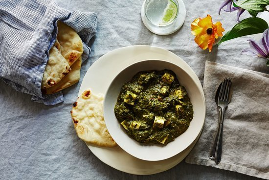 Dinner Tonight: Palak Paneer