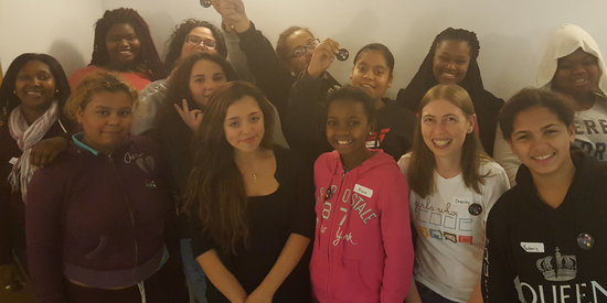 Teen Girls At Homeless Shelter Learn To Code, Work Toward Bright Futures