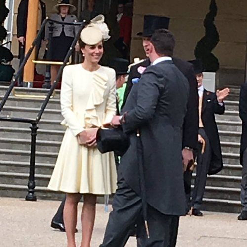 Kate Middleton's Ruffled Suit May 2016