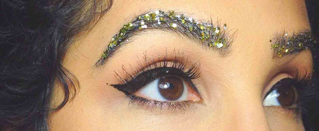 Glitter Brows Are the Bedazzling Beauty Trend That Will Give You Life