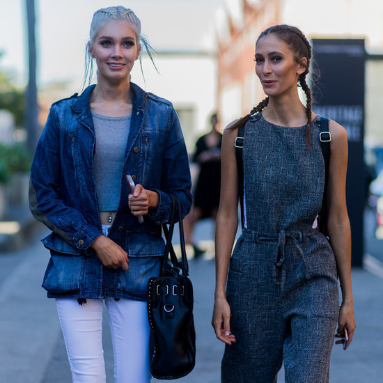 Model Street Style Pictures at Australian Fashion Week 2016