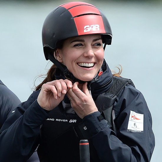 Kate Middleton Sailing in England May 2016