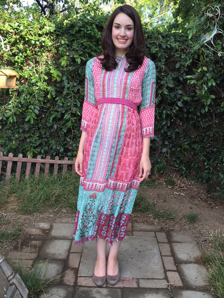 Amanda Re-Creating Kate's Anita Dongre Look