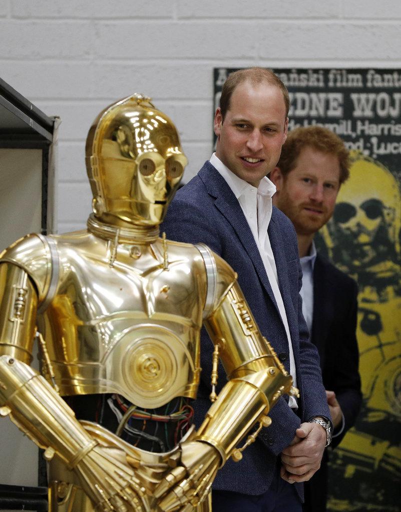 Back in April 2016, the men visited the set of Star Wars: Episode VIII.