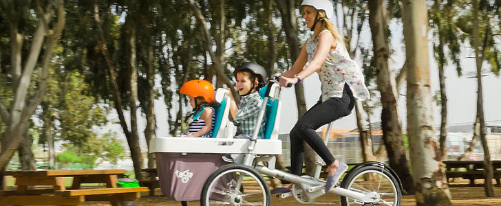 This New Bike Stroller Hybrid Is Probably 1 of Those Ideas You've Had in Your Head Forever
