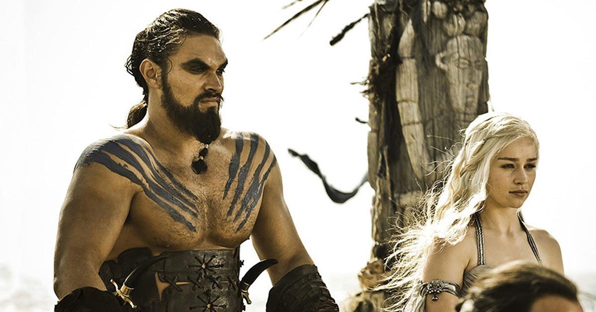 Khal Drogo Jason Momoa...