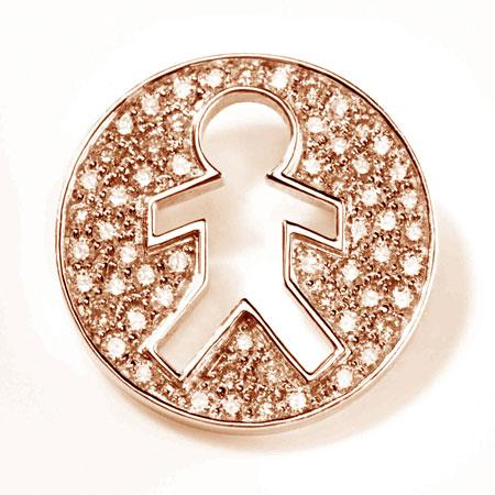 Zachary .59ct Diamonds 14k Rose Gold