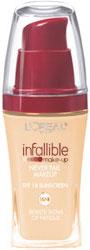 L'Oreal Infallible Never Fail Makeup Review