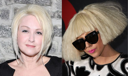 Lady Gaga and Cyndi Lauper Become Viva Glam Women
