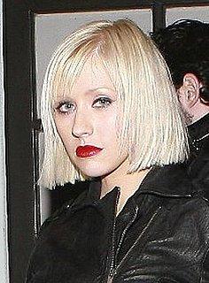 Christina Aguilera's New Bob Haircut