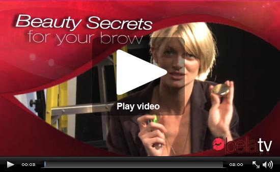 BellaTV: Easy Tips For Beautiful Brows