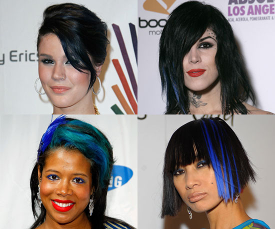 Blue-Haired Ladies
