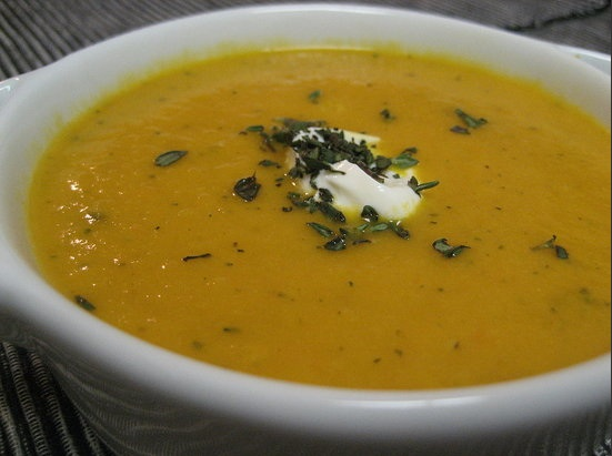Carrot Thyme Soup