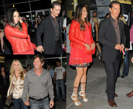 Photos of Matthew McConaughey And Pregnant Camila Alves at a Screening in London