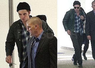 Photos of Robert Pattinson Arriving at LAX