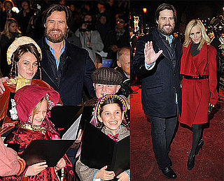 Photos of Jim Carrey and Jenny McCarthy at the UK Premiere of A Christmas Carol
