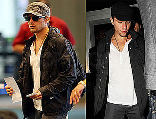 Photos of Ryan Phillippe at LAX and M16 in LA 2009-11-04 16:30:57