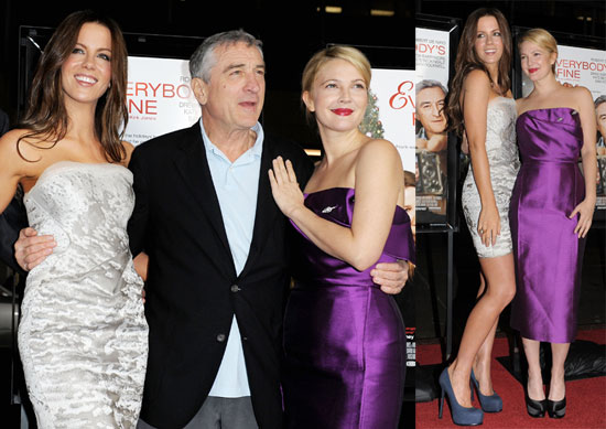 Photos of Drew Barrymore, Kate Beckinsale and Robert De Niro at Premiere of Everybody's Fine in LA