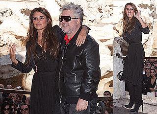 Photos of Penelope Cruz And Pedro Almodovar Promoting Broken Embraces in Rome