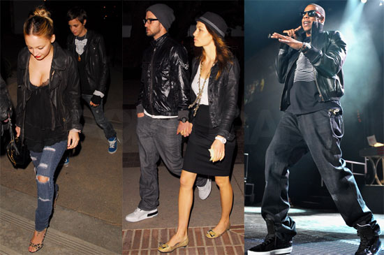 Photos of Celebs Attending the Jay-Z Show in LA