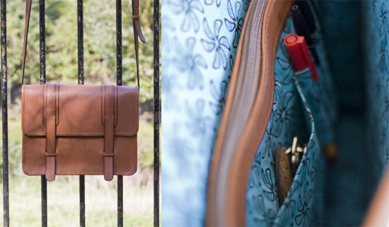 Leather Briefcase from Soda+Kitch