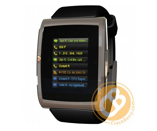 The BlackBerry Watch