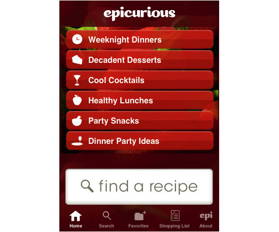 For Finding Recipes