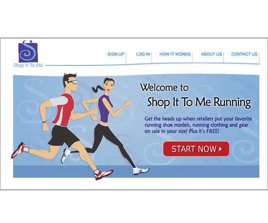Shop It to Me Running