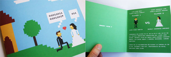 4-Bit Wedding Invites For Your Geeky Wedding
