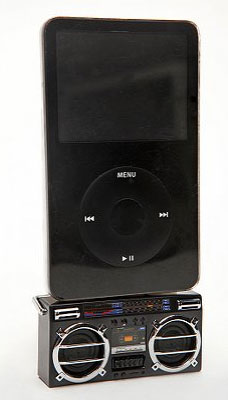 Boombox iPod Dock From Urban Outfitters
