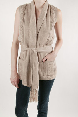 The Look For Less: Brochu Walker Cable Wrap Vest