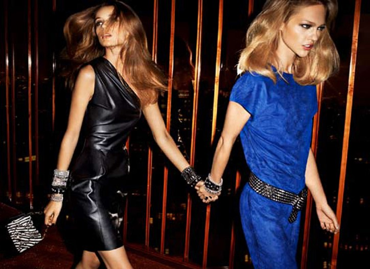 Sizzling Hot Ads from Jimmy Choo for H&M!