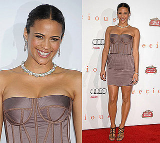 Photo of Paula Patton Wearing Bottega Veneta Dress at 2009 AFI Fest