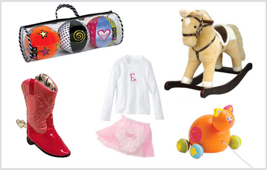 Holiday Gifts for Newborn Girls