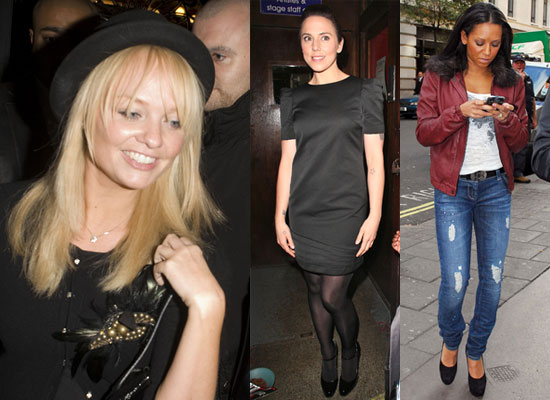 Photos of Emma Bunton at Melanie Chisholm Blood Brothers Debut, Melanie Brown Says No Spice Girls Musical There Will Be Reunion