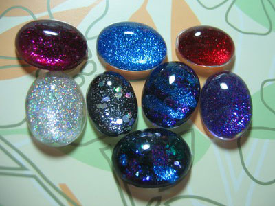 Nail Polish Rings — Oval ($13)