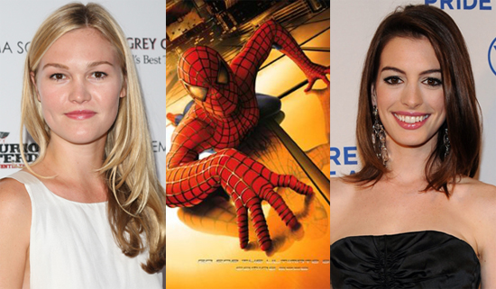 Anne Hathaway and Julia Stiles Rumoured to Play The Black Cat in Spider-Man 4