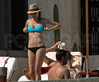 Slide Photo of Diane Kruger in a Bikini and Josh Jackson on Vacation in Mexico