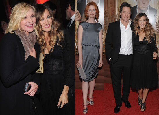 Photos of Sarah Jessica Parker, Kim Cattrall, Cynthia Nixon and Hugh Grant at NY Premiere Of Did You Hear About The Morgans