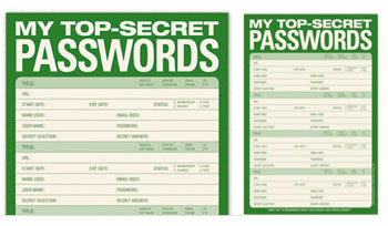 A Notepad to Store Your Passwords