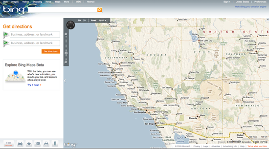 Daily Tech: Microsoft Launches Bing Maps