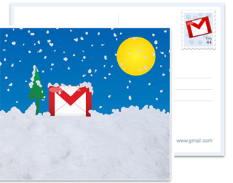 Google Will Mail a Free Holiday Postcard on Your Behalf
